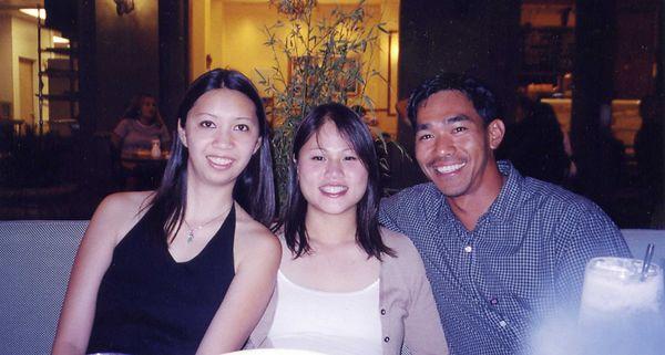 Myvan, Oanh, Marlo at Straits Cafe