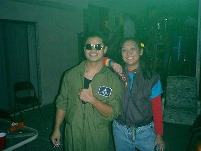 Me and Maverick- Halloween 2003