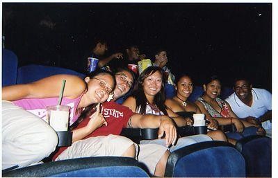 Mike's Bday- Santana Row and movies