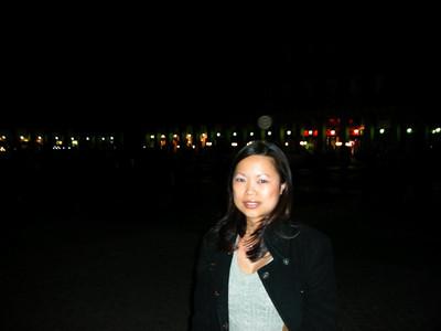 ¡La plaza es muy grande!