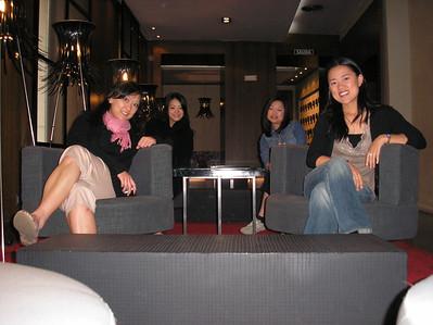 The hotel was gorgeous.  It was featured in Elle en español.