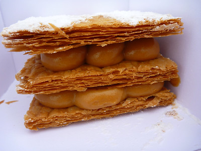 Day 6 (Paris): Caramel Millefeuille (1000 layers) from Jacques Genin