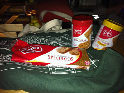 The new nutella, Speculoos to take home (sold as Biscoff in the US)