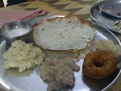 We stayed at the Aravind Guesthouse, which was dorm-like. The cooks use Western standards to prepare meals and we were fed 3x a day. It was so delicious.