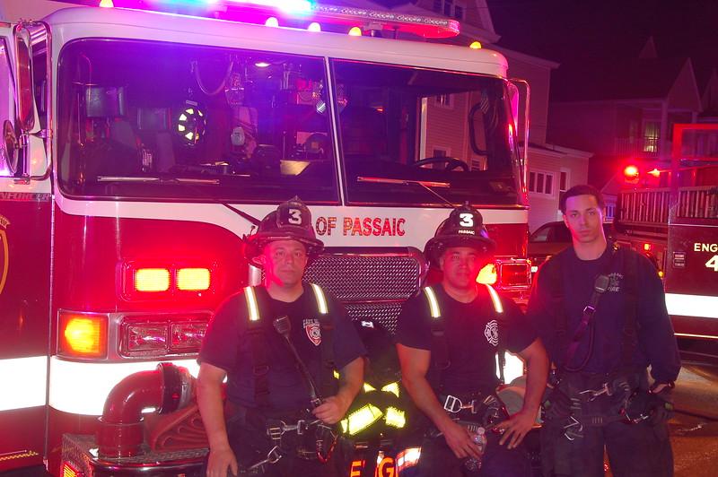 Members of Passaic Engine 3 on 5-22-16