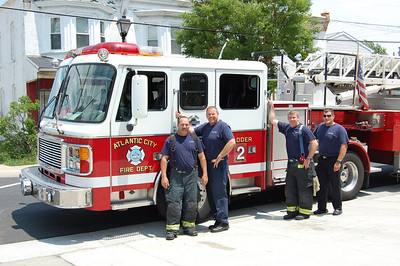 Atlantic City Ladder 2.  Photo by Chris Tompkins