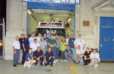 Buff Night 2005 at Newark Rescue 1