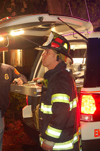 Why start small? Ken Kalman directs his first working fire as Acting Deputy Chief in Hackensack, A fully involved 2 1/2 story frame dwelling that went to three alarms.