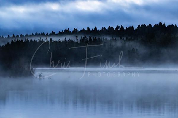 Island Park Reservoir at Dawn