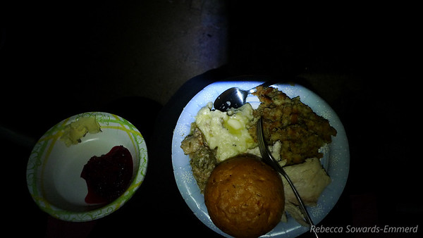 A Thanksgiving feast in the middle of Nowhere, The Desert. With great friends. What more can I ask for?