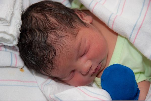 Baby Devon, 3 Days Old