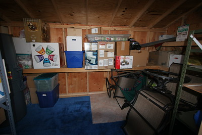 Contents of the shed before unloading it all for moving...