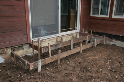 This will be the new back steps