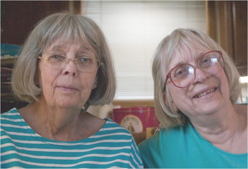 May 9, 2010 - Old friends -  Barb and Barb (Ann) by John.