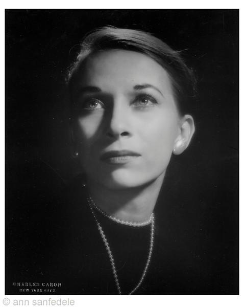 ann 1960 pro headshot by Charles Caron