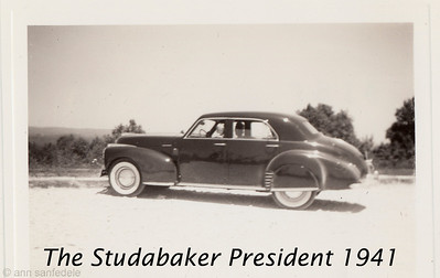 Studebaker President 1941 - yesyes, I spelt it wrong captioning the photo