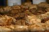 close up baklava