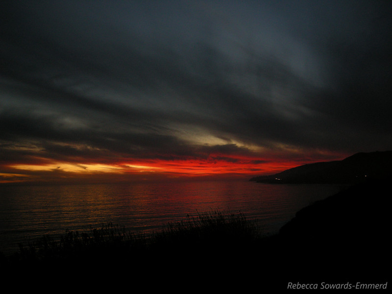 Sunset back at El Capitan