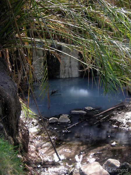 Las Cruces Hot Spring - lower pool