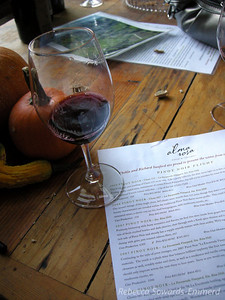 At Alma Rosa - last winery of the day. Amazing pinots.