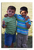 Sebastian and his friend from school, Anish.