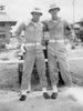 "Wallace Eldredge (left) ""The two of a kind, me and Roger. BGBC."" British Guiana Base Camp."