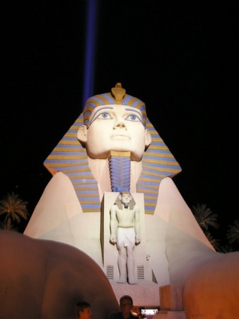 Luxor (Las Vegas, not Egypt)