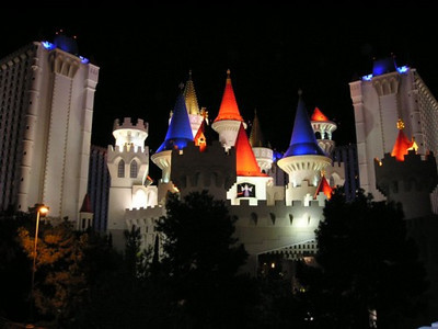 Excalibur (where we stayed)