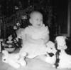 Deborah Ann Eldredge. Christmas 1955.