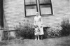 On back of picture: Lucy Drinkwater LaBree, grandmother of Henry LeRoy Oakes. Probably about 1930s in Maine (?).