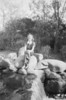 Marie Melina Roy Oakes. Probably taken 1940s in Maine.