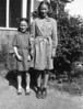 Anita and Hazel Oakes. Bay Shore, NY. About 1940.