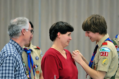 Troup 438 Eagle Scout Ceremony