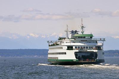 1 July 2011: Classic ferry shot.