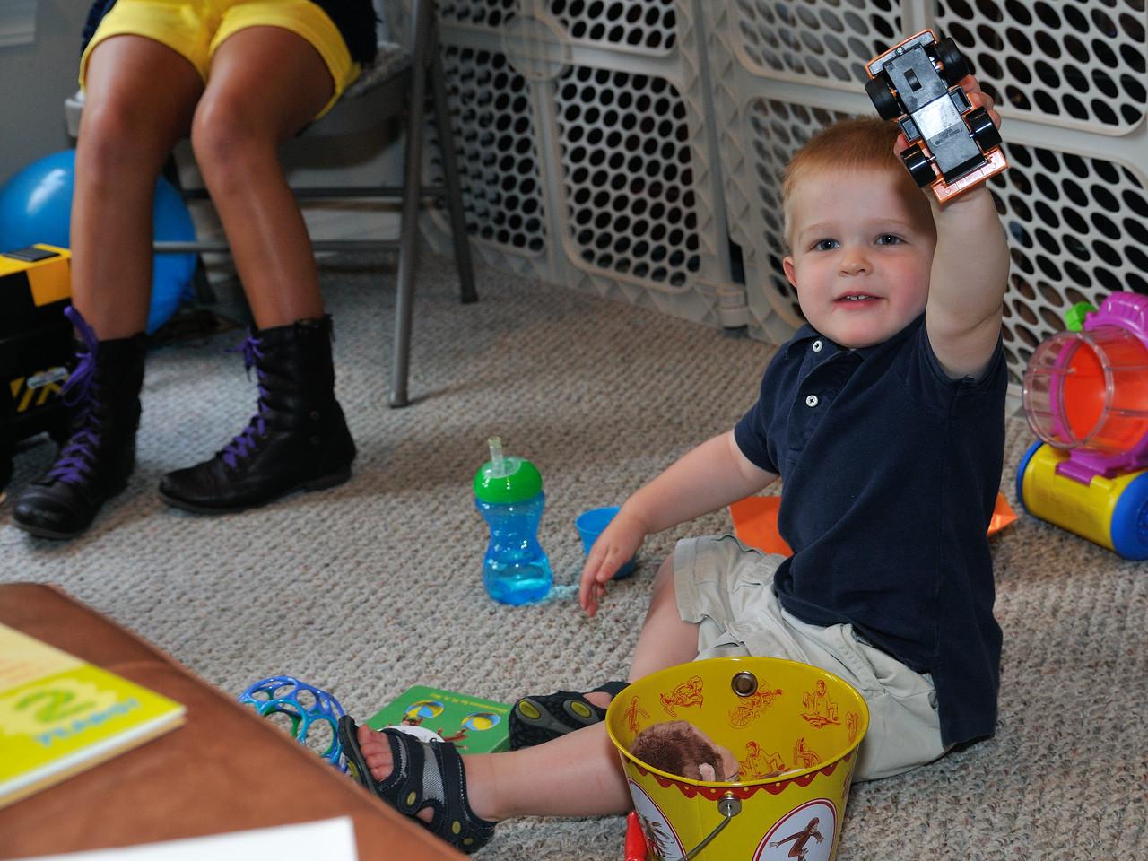 Ethan's second birthday