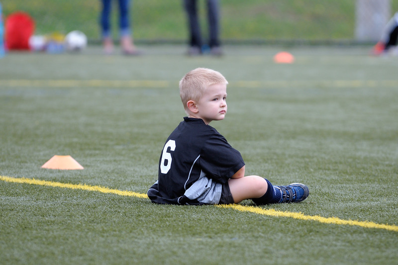 7 Sep 2013: My nephew's first soccer game