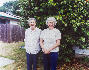 Wilma Keller & Annette Williams