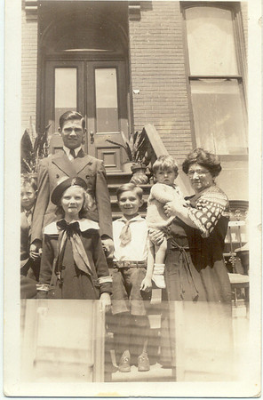 1934: John Cuddy (Brother Henry, OSF), George Francis Frost, Gerard Frost, Mary Henry Frost, Teresa Brennan.