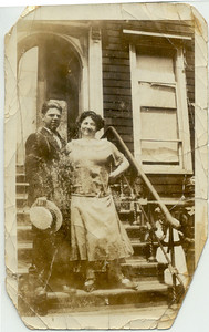 1923: George Patrick Frost & Mary Henry Frost; 459 Lafayette Ave, Brooklyn.