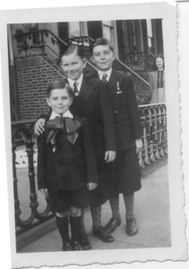 1940: Gerard Frost, Jimmy Brenna, George Francis Frost.