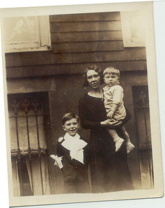 1935: George Francis Frost, Bessie Hampton Frost, Gerard Joseph Patrick Frost.
