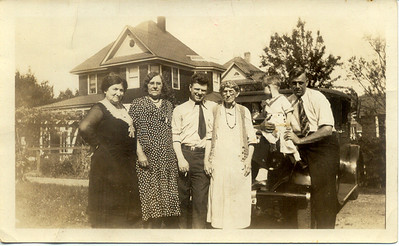 1930: Mary Henry Frost, Freda Pupke Hampton, George Patrick Frost, Rosanna Pearsall Frost, George Francis Frost, George Washington Frost; Lynbrook, NY.