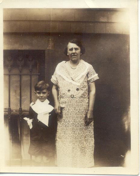1935: George F. Frost, Freda Pupke Hampton.