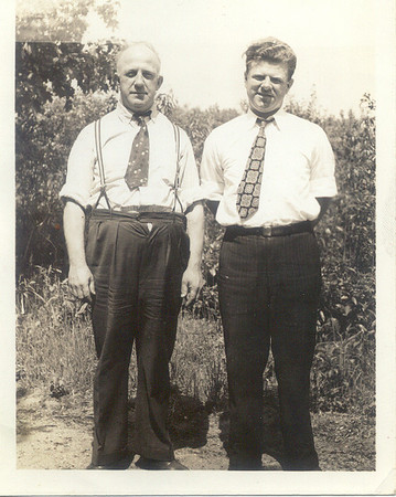 1941, August: Anthony Yarzab, George Patrick Frost.  Belmont Lake.