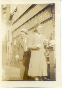 1938, May: George Patrick Frost, Rere (Marie) Keeney.