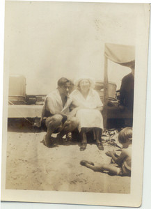 1933: Fred Hampton (b. 1905) and Freda Pupke Hampton.