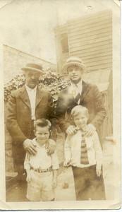 Fred Hampton Sr. (Top left).