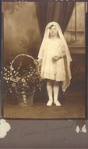 1932: Anna (Nan) Brennan.