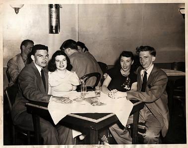 Johnny & Betty on their honeymoon.