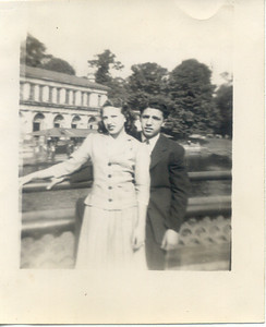 1945: Gloria Kuehne Frost & Vinny Juliano.